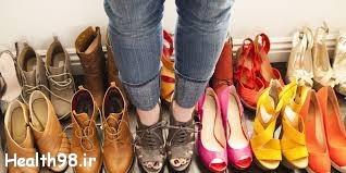 تاثیرات کفش نامناسب روی کمر