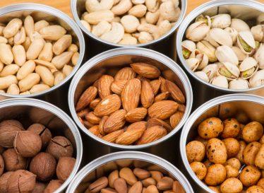 تاثیر آجیل در جلوگیری از اضافه وزن