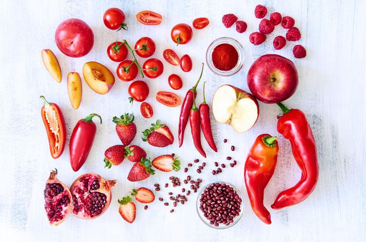 فواید سبزیجات قرمز