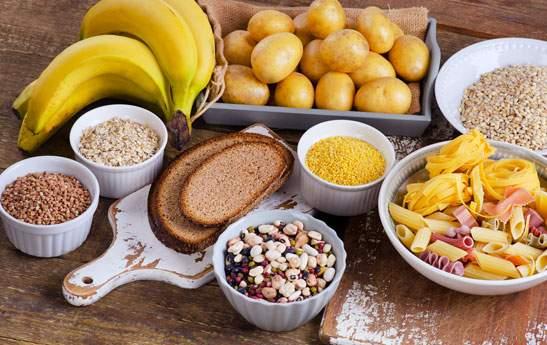 غذاهای سرشار از کربوهیدرات